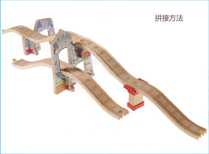 Train Toys Thomas Railway Track TTC77 Cavern Viaduct Thomas And Friends Truck Car Brio Toys for Boys Engine Models Building Toy