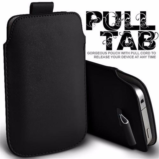 f8ad0bbfd8 For Oneplus 6 6T Case Sleeve Leather Pull Tab Pouch Phone Cases Bgas For  One Plus 6 oneplus6 oneplus6T 6 TPocket Rope Holster-in Phone Pouches from  ...