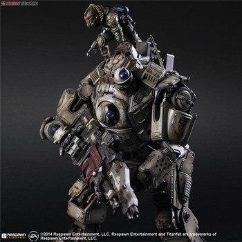 PLAY ARTS 27cm Titanfall Atlas Action Figure Model Toys 1