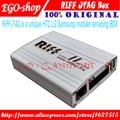 100% original caja de riff riff box jtag para htc, samsung, huawei desbloqueo de flash & repair con 2 unids plana cables
