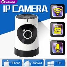 1.0MP Мини Wi-Fi Беспроводная Ip-камера «Рыбий Глаз» Baby Monitor 720 P CCTV Смарт-Камеры Безопасности iPhone Android Вид Панорамный IP камера