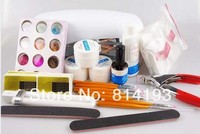 Pro Full Set High Quality UV Gel Nail Kit (New Gift Decoration) Acrylic Tips For Nails Fashion DIY Beauty Care Tool