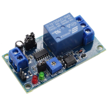 Delay Relay Turn On / off Switch Module with Timer DC 12V