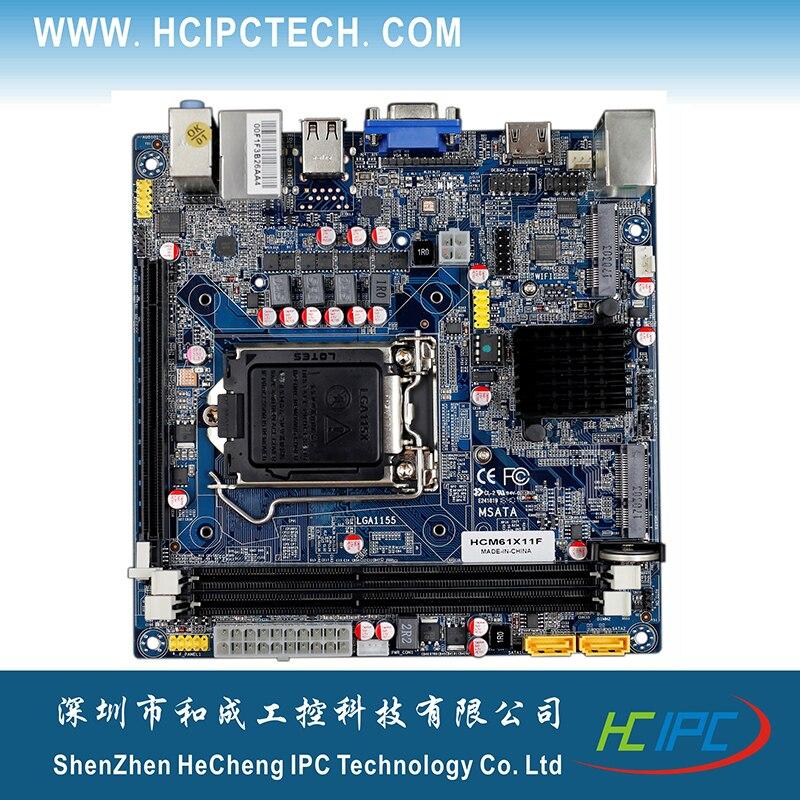 HCIPC 2043 3 ITX HCM61X11F LGA1155 H61 Mini ITX Motherboard Mini ITX Motherboard for Car PC