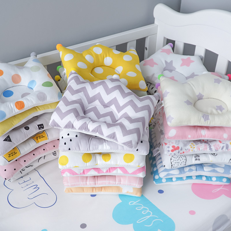 Muslinlife Crown Shaping Baby Kids Pillow Infant Toddler Head Pillow Support Baby Pillow High Quality Dropship