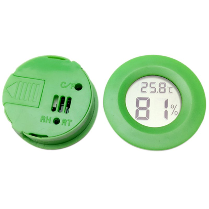 Mini LCD Igrometro digitale Frigorifero Congelatore Tester - Strumenti di misura - Fotografia 3