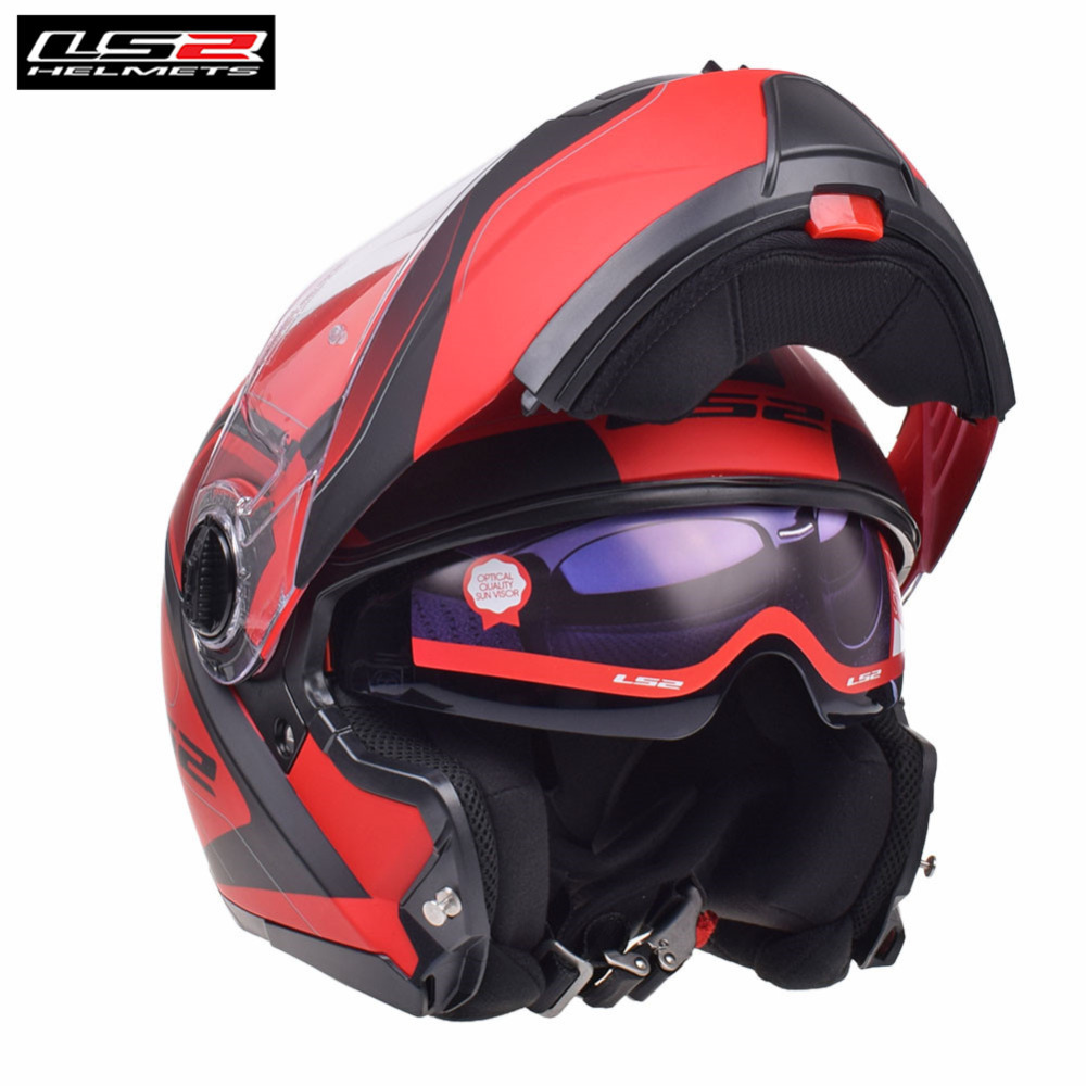 LS2 Modular Flip Up Full Face Motorcycle Helmet Capacete Casco Casque Moto Touring Helmets Kask Helm Harley FF325 STROBE original ls2 ff353 full face motorcycle helmet high quality abs moto casque ls2 rapid street racing helmets ece approved