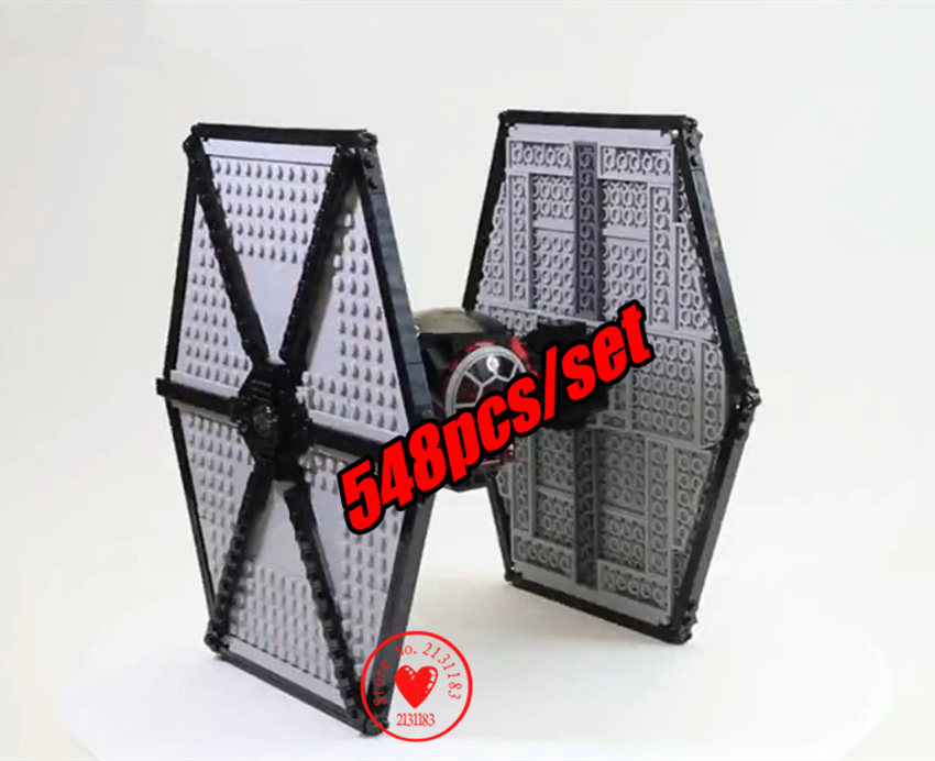 NEW Star Space Clone Wars Tie Super Fighter Building Bricks Blocks Set Toy Compatible with lego kid gift set boys birthday