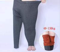 Winter Thick Legging Large Size XL 6XL For Elastic Soft Show Women All Match Black Leggings