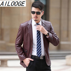 2016 winter sheep leather suit leather jacket men s business casual leather jacket.jpg 250x250