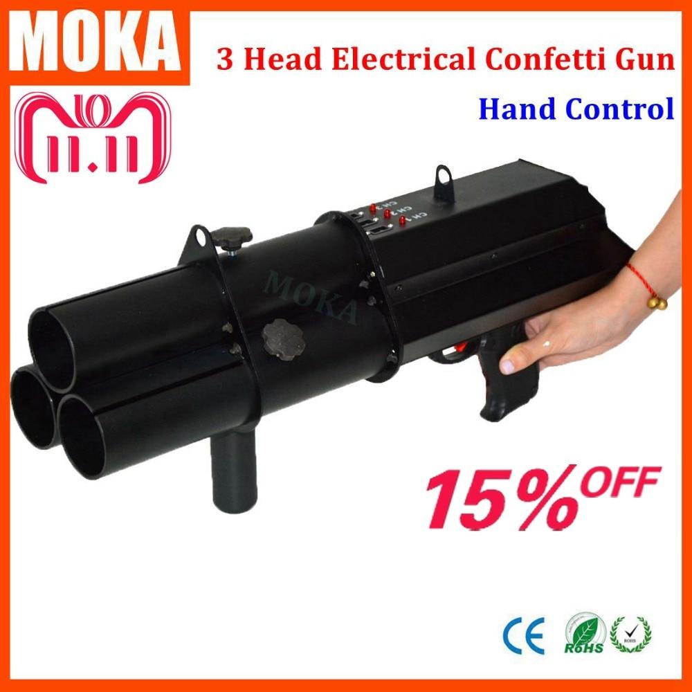 Stage Effect Machine Confetti Cannon Machine Paper Confetti Gun Machine Confetti Shooter Gun Machine недорого