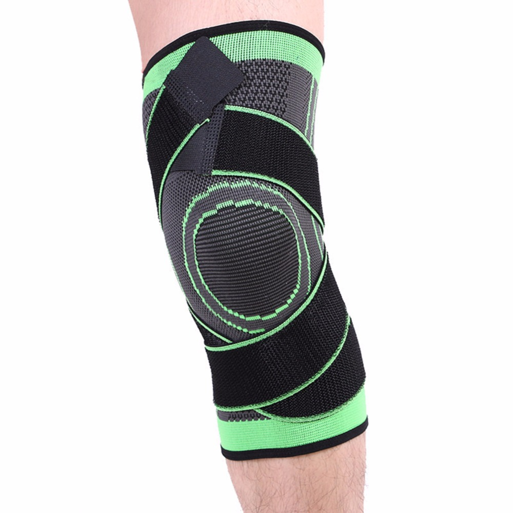1pcs cycling Knee Sleeve Single Powerlifting Weightlifting Patella Support Brace Protector For Adult one Size