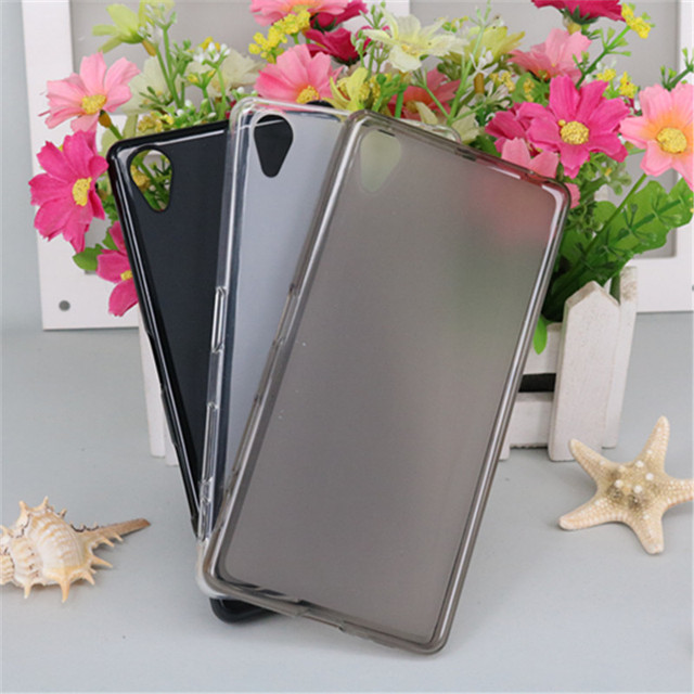 Transparent Soft Silicone TPU Phone Back Cover Case For Sony Xperia X F5122 F5121 Pudding Gel Soft TPU Shell For Sony X