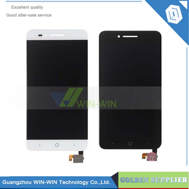 Подробнее о White/Black For ZTE Blade A610 TD-LTE LCD Display + Touch Screen Digitizer Assembly Replacement + Free shipping white black for zte blade a610 td lte lcd display touch screen digitizer assembly replacement free shipping