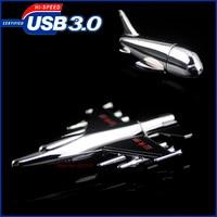 정품 펜 드라이브 64 기가바이트, usb3.0 플래시 드라이브 8 그램 16 그램 32 그램, 항공기 모델 usb 3.0 메모리 플래시 스틱 펜 드라이브 32 기가바이트 USB 3.0 pendrive