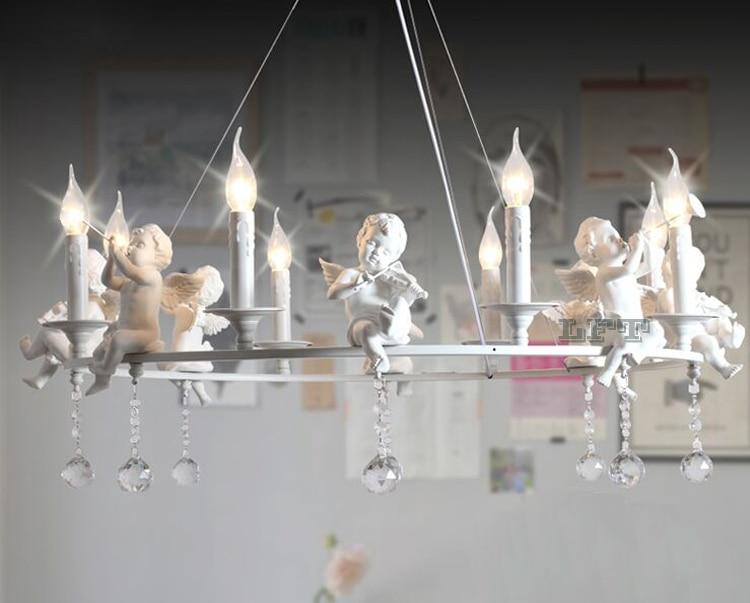 Kronleuchter Mit Engeln ~ Moderne led kronleuchter led lampen wohnzimmer harz engel