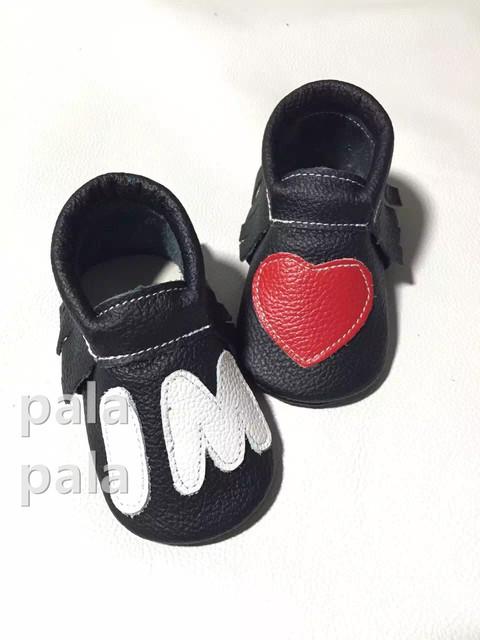 El nuevo encanto i m corazón de cuero de vaca mocasines zapatos de suela blanda Prewalk Niño Infantil de la muchacha niños bebés zapatos Borla de china 2016 primavera