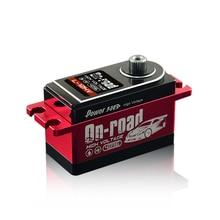 PowerHD цифровой высокое напряжение RC сервопривод L-12HV 12 кг для 1:10 багги RC автомобиль на дороге