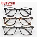 Unisex acetate optical frame brand designer eyeglasses frame Vintage square eyewear for men and women 8805