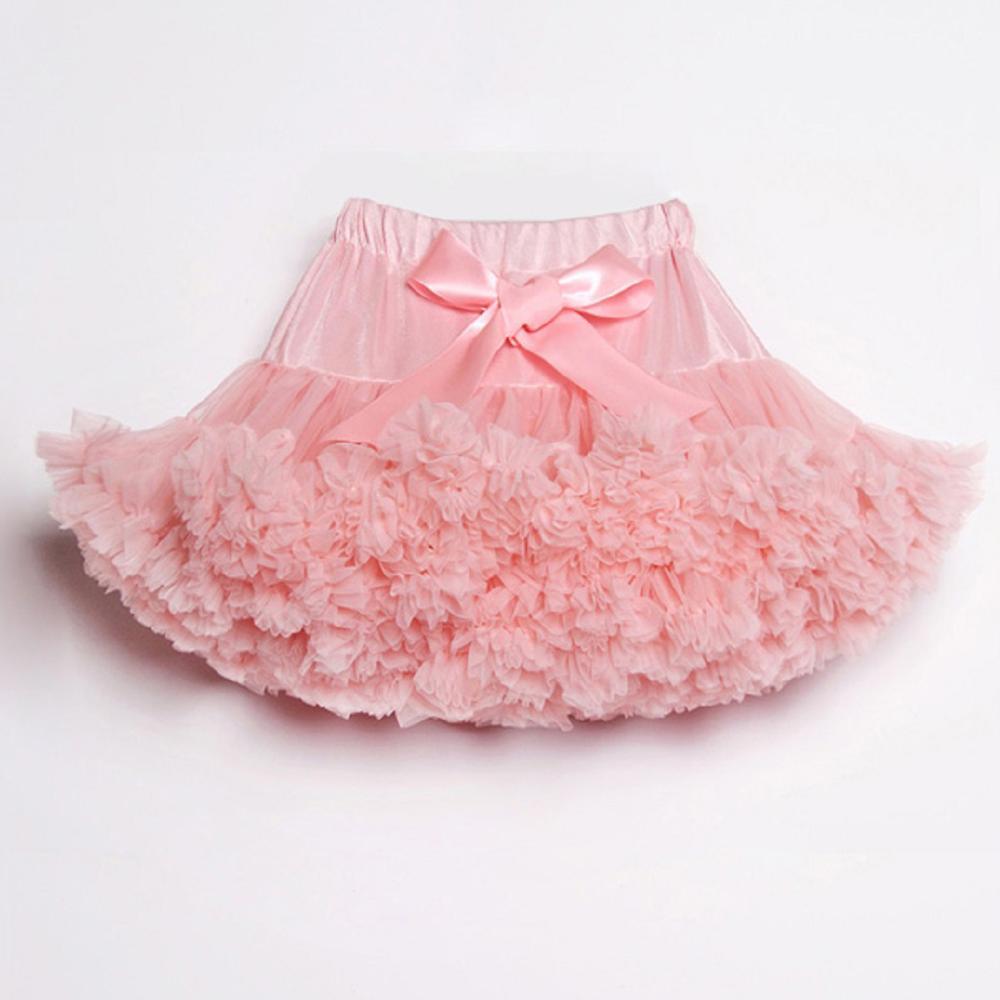 Детские Нижние юбки для девочек юбка-пачка Нижняя юбка для девочек девочки пачки, миниатюрные юбки шифоновая юбка воздушная юбка подростковая одежда для девочек
