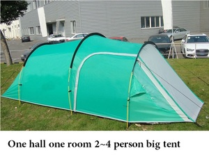 Image 4 - Camping hiking waterproof camping tent ,gazebo,awnings tent camping tourist tent sun shelter beach tent one hall and one room