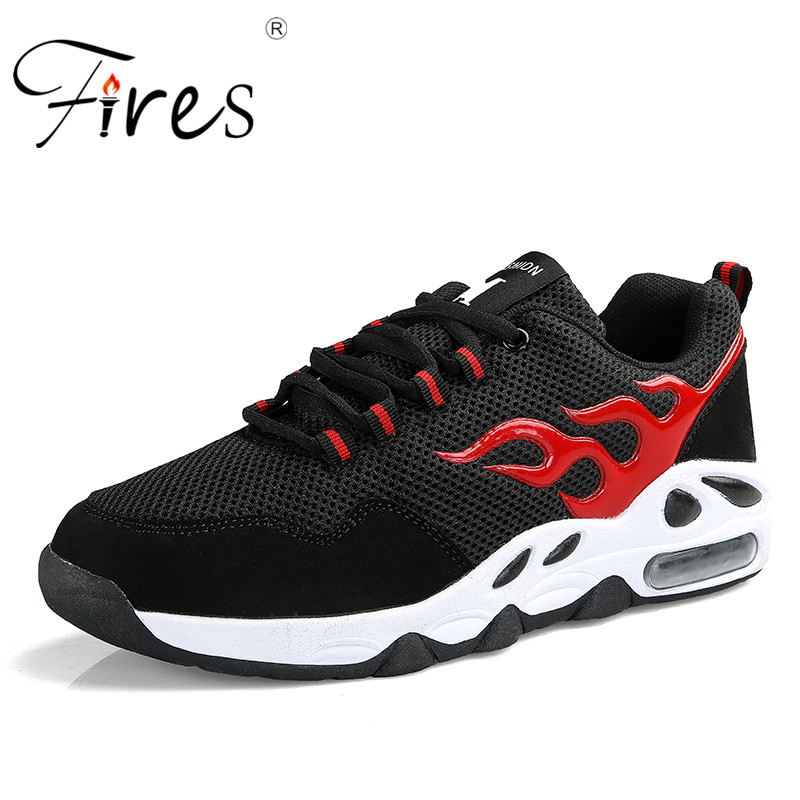 Fires Men Sneakers For Male Sports Running Shoes Large Size Outdoor Breathable Lightweight Walking Shoes Zapatillas de deporte