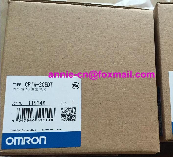 100% New and original CP1W-20EDT  OMRON  PLC CONTROLLER   Input/output unit 100% new and original cp1w 40edr omron plc controller input output unit