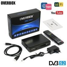 M9S PRO DVB-S2 TV Satellite Receiver HD Support Biss Key newcam cline 3G IPTV EPG Youporn FTA Digital Video Player PK V8