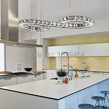High quality K9 Crystal lamp Included Led Pendant lamp Metal Plating Dining room lamp The sitting room lights Hotel lamp in Pendant Lights from Lights Lighting