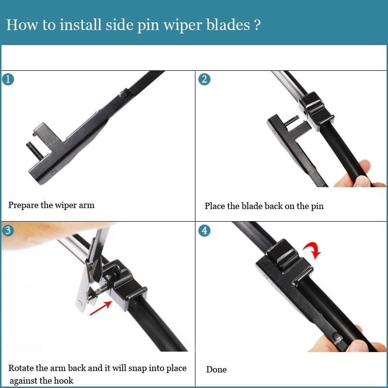 how to change bmw f30 wiper blades
