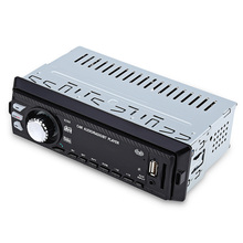 1 Дин Радио игрок стерео аудио 1Din Автомобильный MP3-плеер LED в тире fm Радио SD USB AUX FM Дистанционное управление авторадио