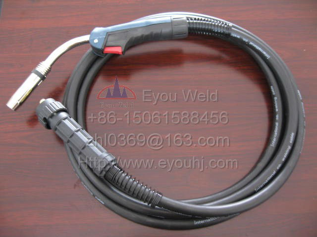 Binzel 36KD CO2 Gas Welding Torch 500AMP 3M Cables (about 10 feet) Ergoplus for MIG/MAG Machine mig mag co2 gas welding gun binzel mb15ak 3m panasonic connection welding torch welder accessories