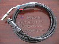 Binzel 36KD CO2 Gas Welding Torch 500AMP 3M Cables (about 10 feet) Ergoplus for MIG/MAG Machine