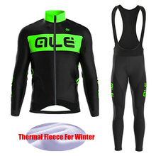 Road Bicycle Race Pro Team Thermal Fleece Cycling Jersey Winter Sets Long Sleeve Maillot Ciclismo invierno Mtb Bike Sportswear