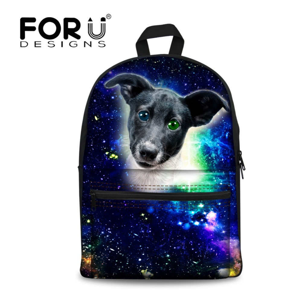 Forudesigns Australian Cattle Dog School Backpack For Girls Teenager