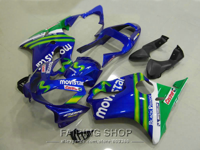 Best fairing kit for Honda Fairings CBR 600F 4i 2003 2002 2001 ( Blue M ) cbr600 f4i 01 02 03 High quality ll95 neo chrome rear lower control arm lca for honda civic 2001 2005 e2c