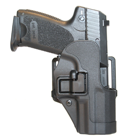 CQC USP Holster Negro bronceado Militar Caza Cinturón Pistolera Pistolera Táctic