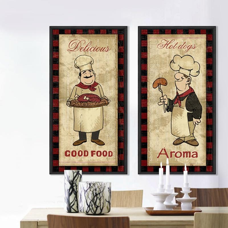Cartoon Comics Cook Turkey Kitchen Decor Lovely Home Decor
