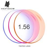1 56 1 61 1 67 Tinted Dyeing Lentes Prescription CR 39 Resin Aspheric Glasses Lenses