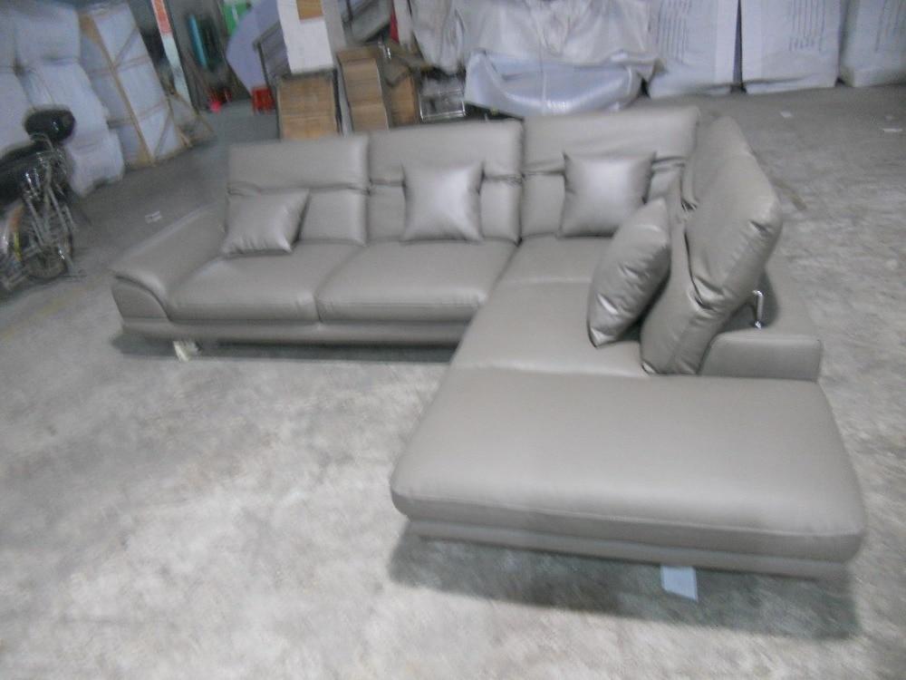 ægte læder sofasnit i stuen sofahjørne hjemmemøbler sofaer med - Møbel - Foto 4