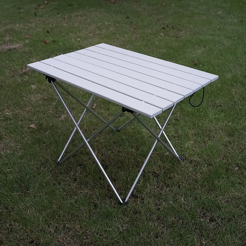 High Strength Aluminum Alloy Portable Ultralight Folding Camping Table Foldable Outdoor Dinner Desk For Family Party Picnic BBQ 1