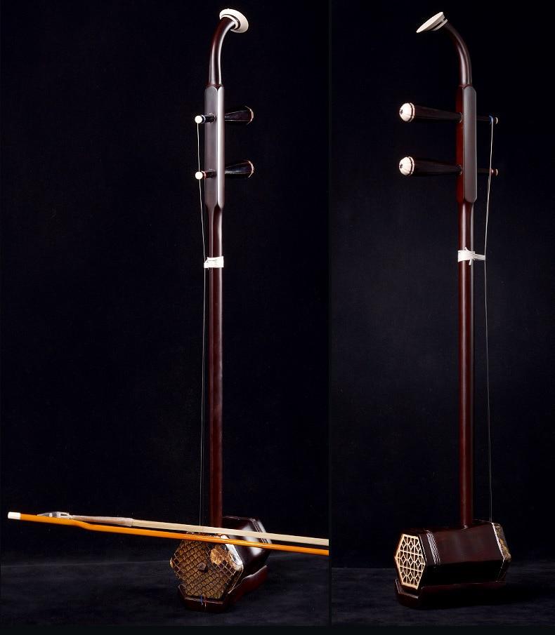Instrumentos musicales de cuerdas de erhu palo de rosa chino de alta - Instrumentos musicales - foto 4
