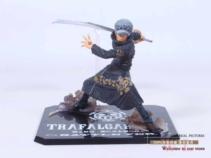 Free Shipping Cool 5 One Piece The Surgeon of Death Trafalgar Law After 2 Years Battle Ver. PVC Action Figure Model Toy image
