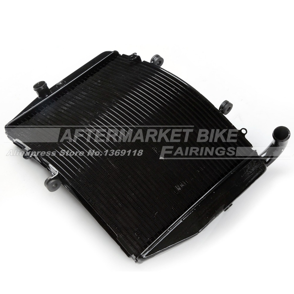 Motorcycle Radiator for Honda CBR600RR 2007 2008 2009 2010 2011 Aluminum Water Cooling Replacemen kemimoto 2007 2014 cbr 600 rr aluminum radiator grille grills guard cover for honda cbr600rr 2007 2008 2009 2010 11 2012 13 2014
