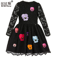 Spring Summer New Lace Flowers Girls Dresses High Quality Child S Wear Toddler TuTu Girl Dresses