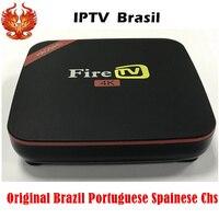 HAOSIHD Iptv Brasil Firetv Box Free 1000 Plus Orginal Brazilian Portuguese Spainese Channels VOD Moives
