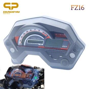 Мотоцикл спидометр цифровой универсальный электрический индикатор ЖК-дисплей аксессуары для кафе гонщик Спидометр Yamaha FZ16 FZ 16