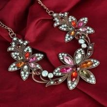 2018 Fashion Designer Chain Choker Statement Necklace Women Necklace Bib Necklaces & Pendants Gold Silver Chain Vintage Jewelry