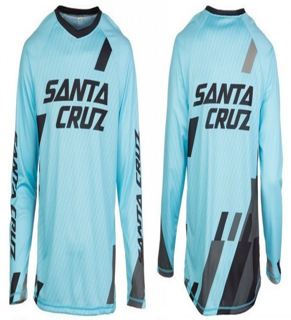 2016 New SANTA CRUZ MTB Downhill Jersey Long sleeve Bike DH AM FR Motorcycle Motocross Cycling Clothing Crossmax Shirt  Clothes