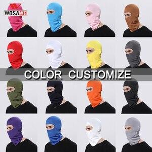 Image 5 - Balaclava Face Mask Motorcycle Tactical Face Shield Mascara Ski Mask Cagoule Visage Full Face Mask Gangster Mask